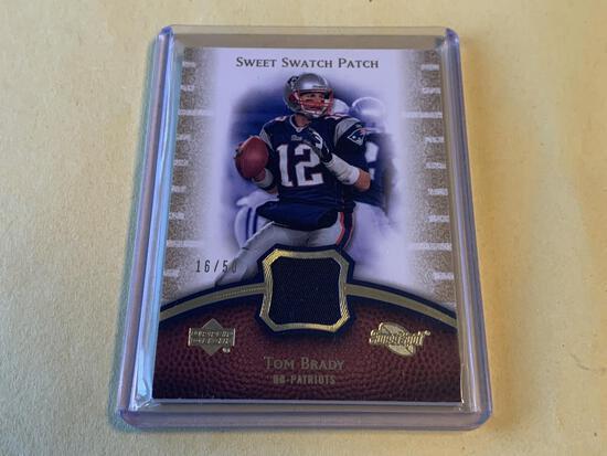 TOM BRADY 2007 Sweet Spot JERSEY 16/50 Card
