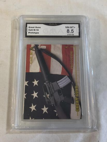 COLT M-16 Prototype Trading Card Graded 8.5 NM-MT+