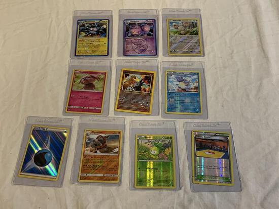 Lot of 10 RARE Holofoil Pokemon Cards