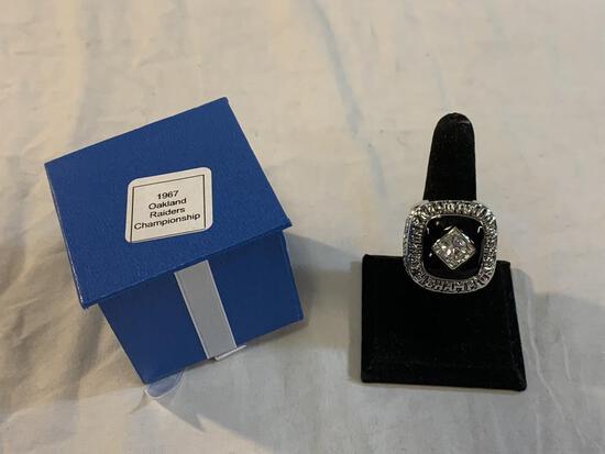 1967 Oakland Raiders Championship Replica Ring