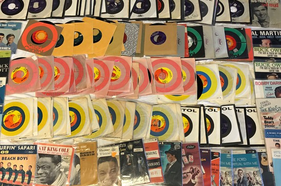 Jexters Timed 45 RPM Record Auction - 4/1/2020