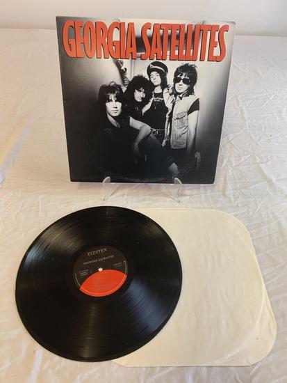 GEORGIA SATELLITES Self Titled LP Album Record 198