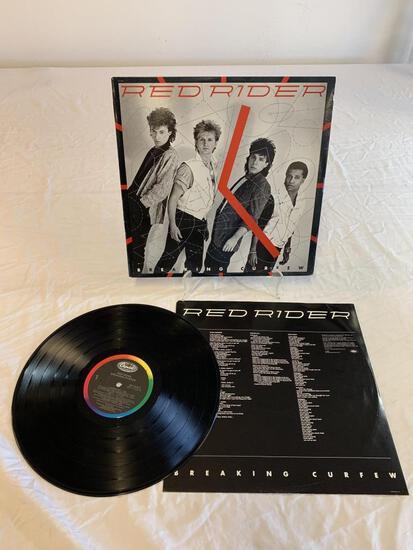 RED RIDER Breaking Curfew LP Album Record 1984
