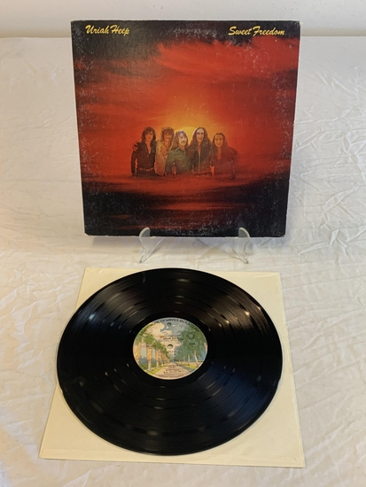 URIAH HEEP Sweet Freedom LP Album Record 1973