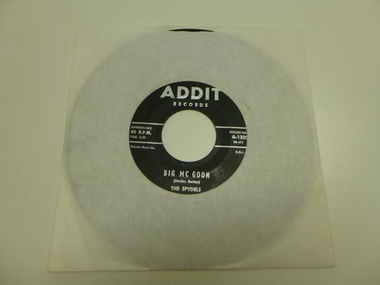 THE SPYDELS Big Mc Goon 45 RPM Record 1960