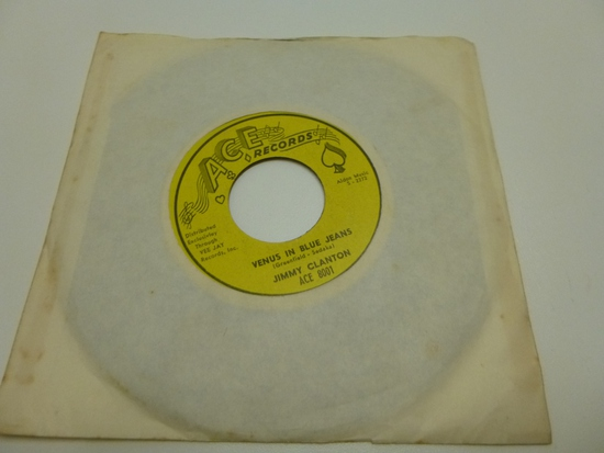 JIMMY CLANTON Venus In Blue Jeans 45 RPM Record 19