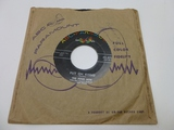 THE FOUR HITS Put On Kisses 45 RPM Record 1950's