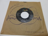 GINNY GIBSON Miracle Of Love 45 RPM Record 1956