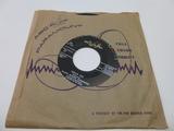 RALPH WALDO CUMMINGS The Black Weekend 45 RPM Rec