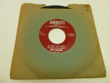 RUDY GRAYZELL It Ain't My Baby 45 RPM Record 1954