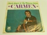 HERB ALPERT Carmen 45 RPM Record 1967