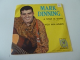 MARK DINNING A Star Is Born 45 RPM Record 1960
