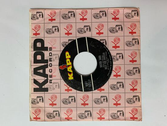 Billy Edd Wheeler ?? Sister Sara / Ode To The Little Brown Shack Out Back 45 RPM 1964 Record