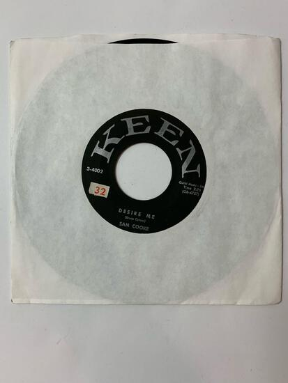 Sam Cooke ?? For Sentimental Reasons / Desire Me 45 RPM 1957 Record