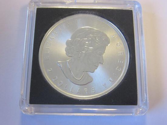 2016 .999 Silver 3/4oz Canadian 2 Dollar Coin