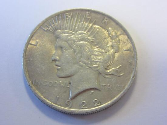 1922 .90 Silver Peace Dollar