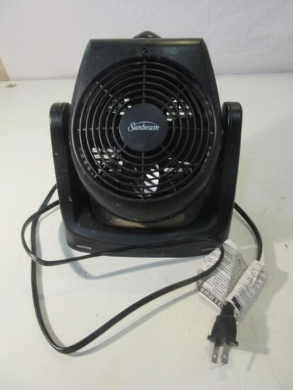 """9"""" Sunbeam Fan and Heater"""