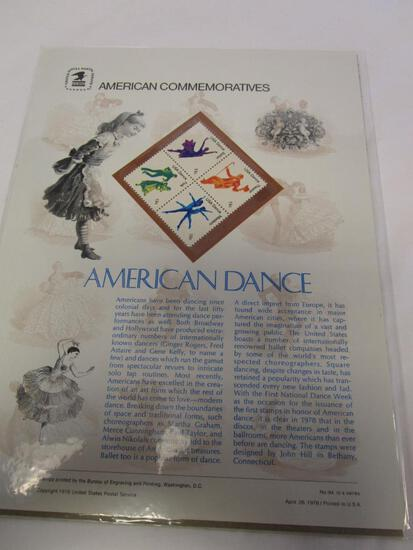 USPS American Commemoratives American Dance. No. 94, April 26, 1978