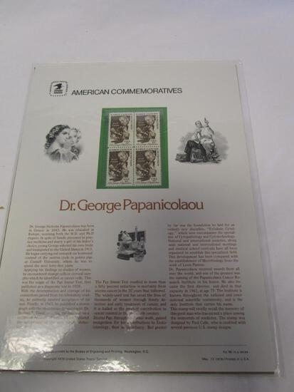American Commemoratives D. George Papanicolaou. No. 96, May 13, 1978