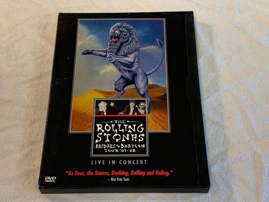 THE ROLLING STONES Bridges To Babylon Tour 97-98 DVD Concert