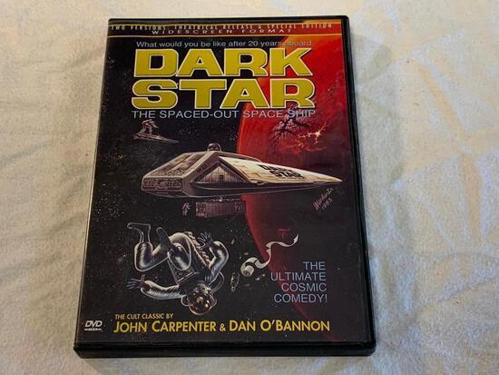 DARK STAR The Spaced-Out Space Ship DVD MOVIE John Carpenter