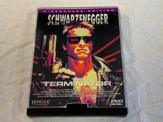 The Terminator (DVD, 1998, Widescreen) rare plastic slide case hemdale image