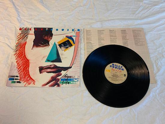 BILLY SQUIER Signs Of Life LP 1984 Album Vinyl Record