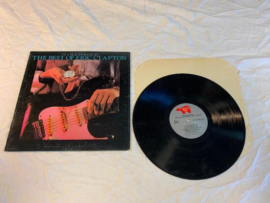 ERIC CLAPTON Time Pieces The Best Of LP 1982 Album Vinyl Record