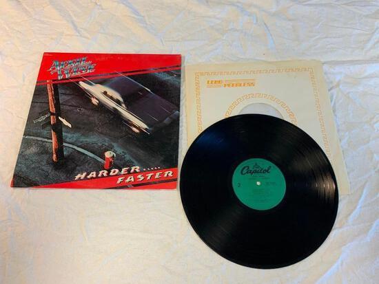 APRIL WINE Harder Faster LP 1979 Album Vinyl Record