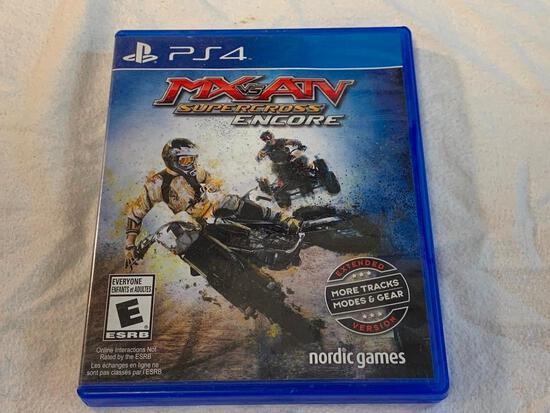 MX vs ATV Supercross Encore PS4 Playstation 4 Video Game