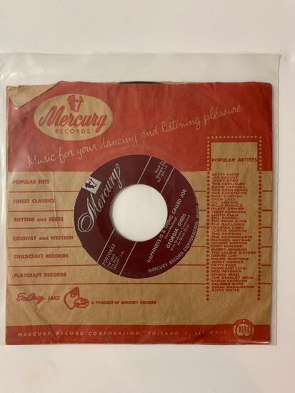 Georgia Gibbs ?? Happiness Street 45 RPM 1956 Record