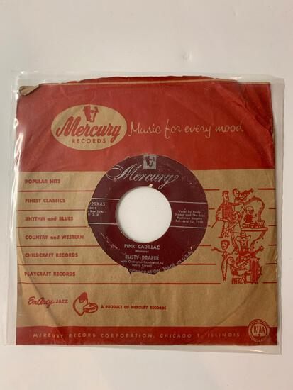 Rusty Draper ?? In The Middle Of The House / Pink Cadillac 45 RPM 1956 Record