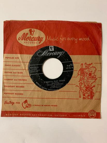 Sarah Vaughan With Hugo Peretti And His Orchestra* ?? It Happened Again / I Wanna Play House 45 RPM