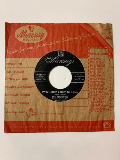 The Diamonds ?? Love, Love, Love / Ev'ry Night About This Time 45 RPM 1956 Record