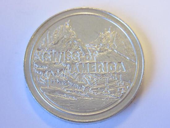 .999 Silver 1oz Swiss of America Bullion