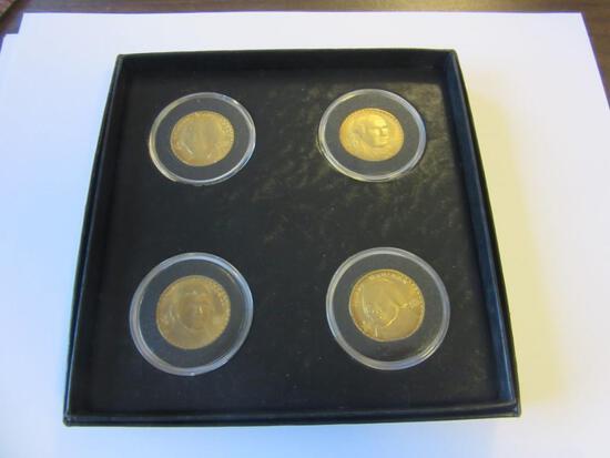 Set of 4 2007 Presidential Dollars