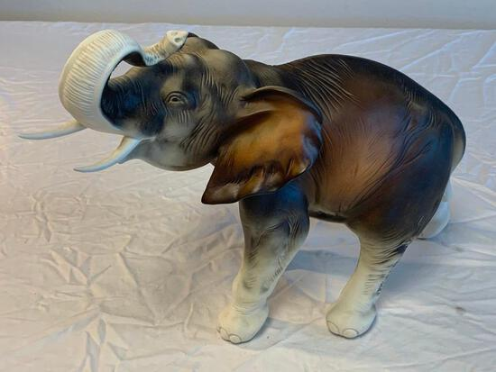 Royal Dux Elephant Decorative Figurine