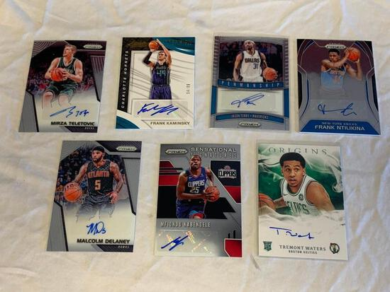 Lot of 8 Current Basketball AUTOGRAPH Insert Cards