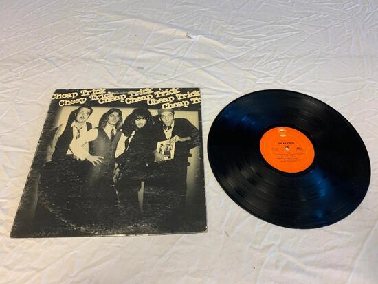 CHEAP TRICK Self Titled 1977 LP Album VInyl Record