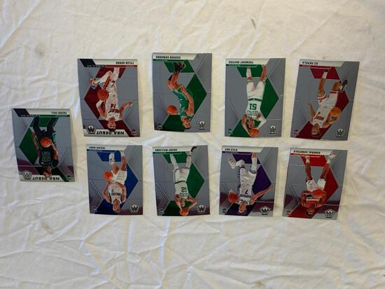 Lot of 9 2019-20 Mosaic Basketball ROOKIE Cards