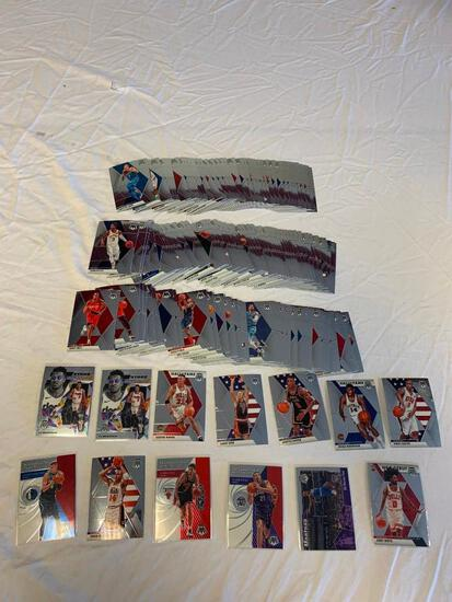 Lot of 145 2019-20 Mosaic Basketball Cards with STARS