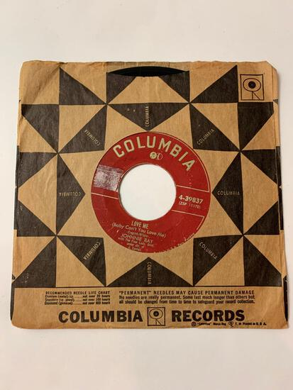 JOHNNIE RAY Faith Can Move Mountains 45 RPM 1952 Record