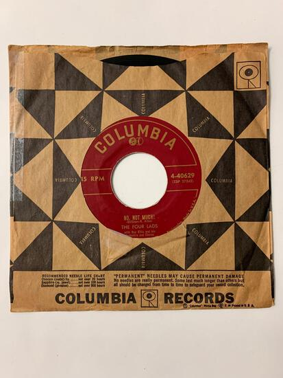 THE FOUR LADS No, Not Much! / I'll Never Know 45 RPM 1955 Record