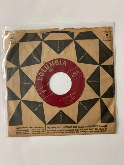 JO STAFFORD St. Louis Blues / Ain'tcha-Cha Comin' Out T-Tonight 45 RPM 1955 Record