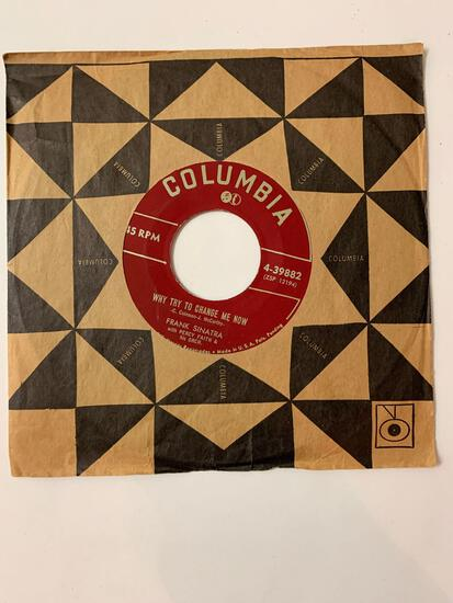 FRANK SINATRA The Birth Of The Blues / Why Try To Change Me Now 45 RPM 1952 Record