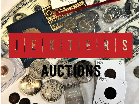 Jexters Coin and Currency Auction - 7/10/2020