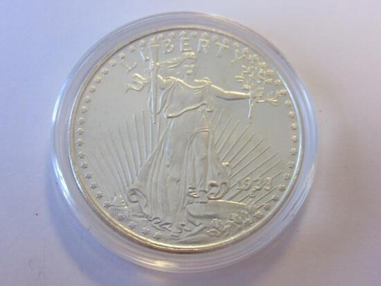.999 Silver 1oz 1933 Liberty Bullion