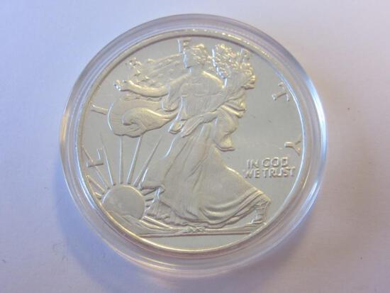 .999 Silver 1oz Walking Liberty Bullion