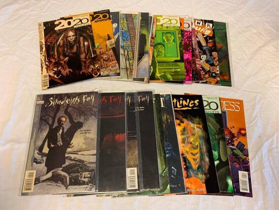 Lot of 25 Comic Books-The Last One, 2020 Visions, Shadows Fall and others