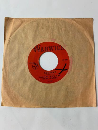 JOHNNY AND THE HURRICANES ?? ?? Red River Rock / Buckeye 45 RPM 1959 Record